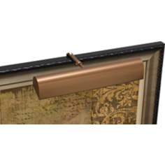 "House of Troy 14""W Traditional LED Bronze Picture Light"