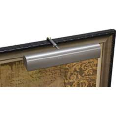 "House of Troy 14""W Traditional LED Pewter Picture Light"