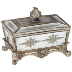 Calera Gold Mirror Covered Box