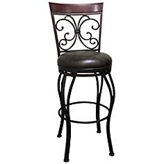 American Heritage Coronado Bonded Leather Counter Stool