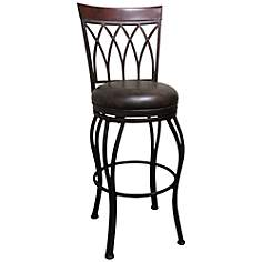 American Heritage Chantilly Bonded Leather Barstool