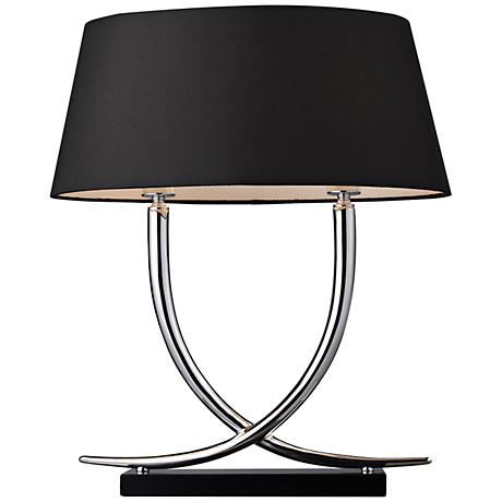 Dimond Park East Chrome Finish Table Lamp