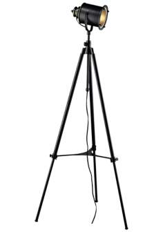 Dimond Ethan Restoration Black Director's Floor Lamp