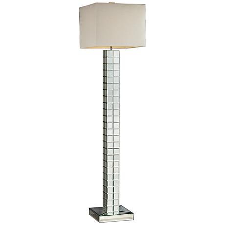 Dimond Luella Mirrored Floor Lamp