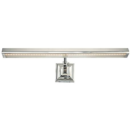 "WAC Hemmingway Polished Nickel 24"" Wide LED Picture Light"