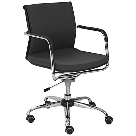 Baden Gray and Chrome Office Chair