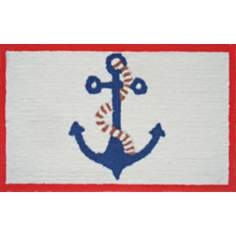 Coastal Anchor Indoor Only Doormat