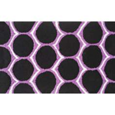 Dotted Purple Indoor Only Doormat