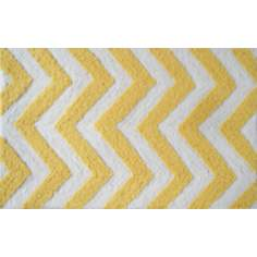 Chevron Yellow Indoor Only Doormat