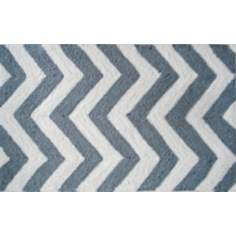 Chevron Grey Indoor Only Doormat