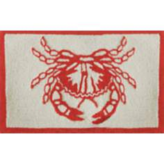 Coastal Crab Indoor Only Doormat