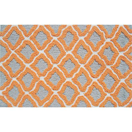 Marrakesh Orange Indoor Outdoor Doormat