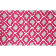 Marrakesh Raspberry Indoor Only Doormat