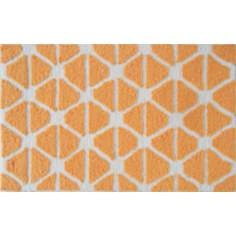Gated Orange Indoor Only Doormat