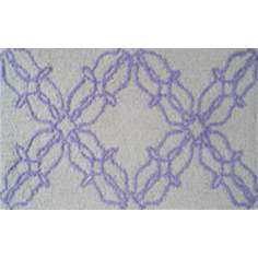 Chrome and Lilac Indoor Only Doormat
