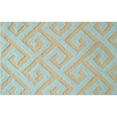 Greek Key Yellow Indoor Only Doormat