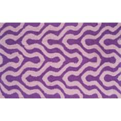 Jagged Plum Indoor Only Doormat