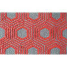 Octagon Red Indoor Only Doormat