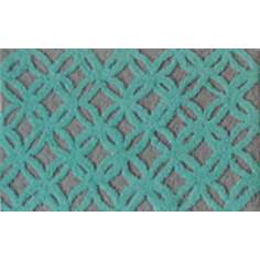 Sparkles Aqua Indoor Only Doormat