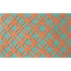 Sparkles Orange Indoor Only Doormat
