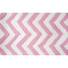 Chevron Pink Indoor Only Doormat