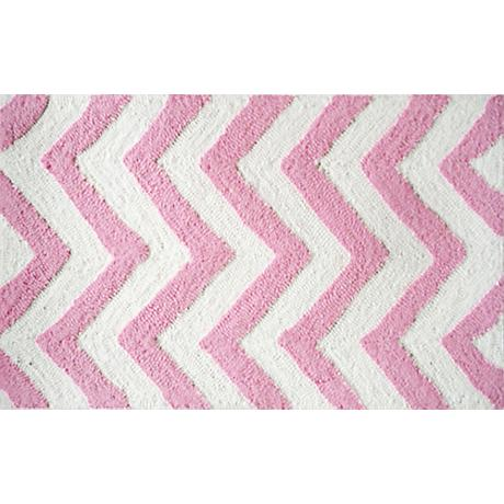 Chevron Pink Indoor/Outdoor Doormat