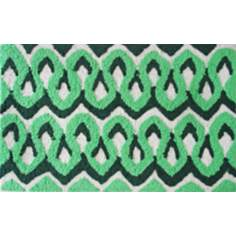Squiggles Green Indoor Only Doormat