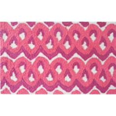 Squiggles Raspberry Indoor Only Doormat