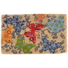Butterflies in Flight Coir Doormat