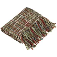 Hanover Collection Multi-Color Decorative Throw