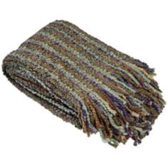 Stria Collection Heather Decorative Throw