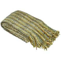Stria Collection Pear Decorative Throw