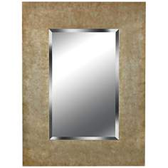 "Kenroy Home Sheen Golden Copper 40"" High Wall Mirror"
