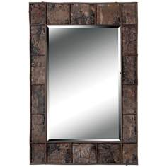 "Kenroy Home Eurela Birch Bark 38"" High Wall Mirror"