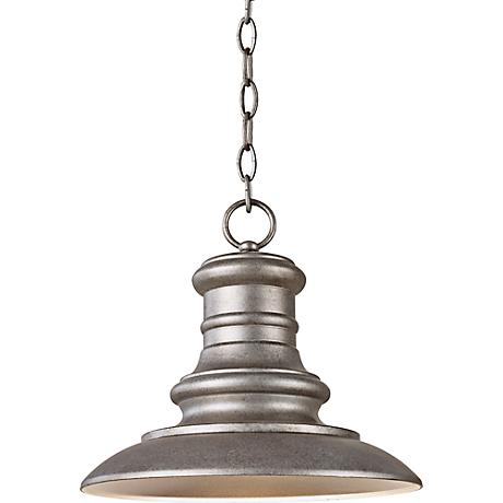 Feiss Redding Station Tarnished Outdoor Hanging Lantern