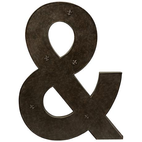 "Ampersand 39 1/4"" High Metal Magnet Board"
