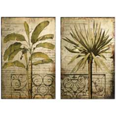 Antego Set of 2 Tropical Wall Art