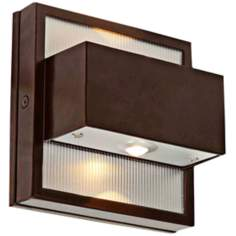 Access ZyZx Collection Outdoor Bronze LED Wallwasher