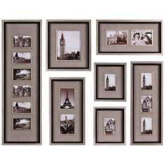 Set of 7 Uttermost Massena Photo Collage