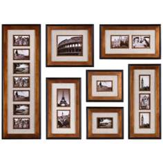 Set of 7 Uttermost Newark Photo Collage