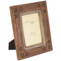 "Windstone Rustic Gray Wood 5""x7"" Picture Frame"