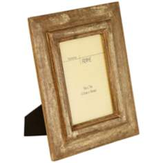 "Haven View Gold Wood 5""x7"" Picture Frame"