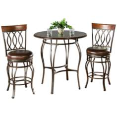 Delato Pub Table with 2 Bella Counter Stools
