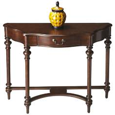 "Plantation 44 1/2"" Wide Cherry Console Table"