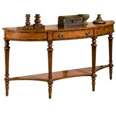 Connoisseur Demilune Console Table