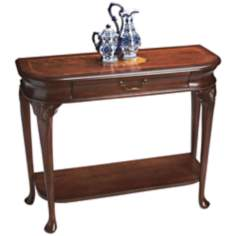 "Plantation 41 1/2"" Wide Cherry Console Table"