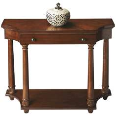Masterpiece Nutmeg Console Table