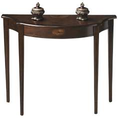Masterpiece Espresso Console Table