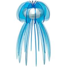 Jellyfish LED Blue Accent Lamp