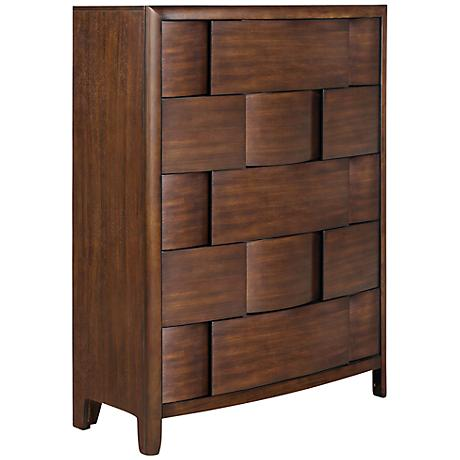 Nova Chestnut 5-Drawer Chest